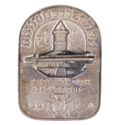 Reichstreubund - Heimkehrfeier Saarbrücken 4.5. Mai 1935 abzeichen