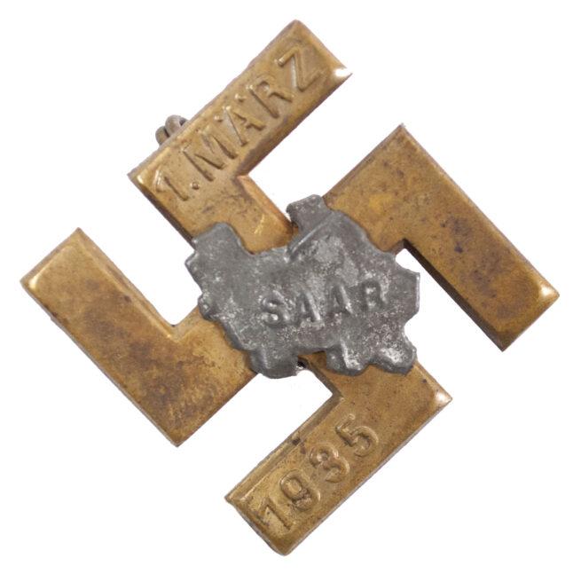 Saar 1. März 1935 abzeichen