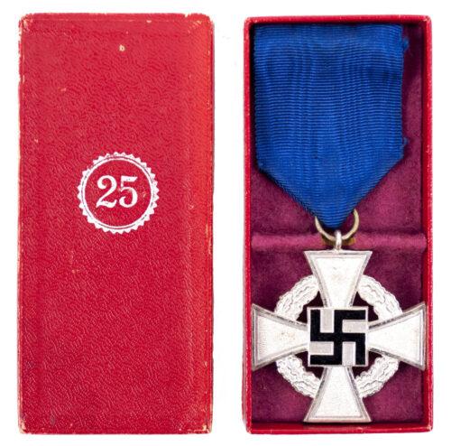Treue Dienst 25 Jahre + Etui Loyal Service 25 years + case (by Zimmermann)