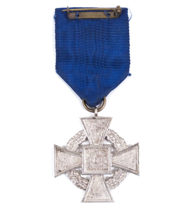 Treue Dienst 25 Jahre Loyal Service 25 Years cross