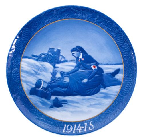 (WWI plate) Deutsches Rotes Kreuz auf dem Schlachtfelde 1914-15 (by Rosenthal)
