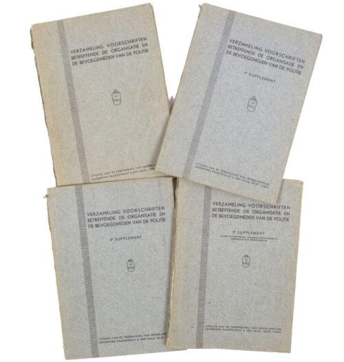WWII Dutch Police Verzameling voorschriften betreffende de organisatie en de bevoegdheden van de Politie