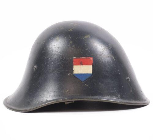 WWII Dutch TENO Helmet with decals