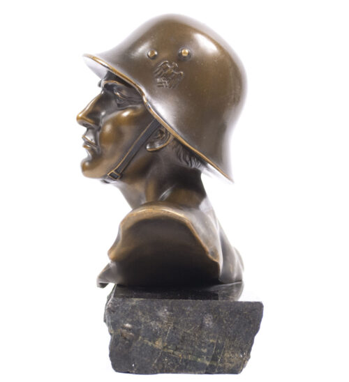 WWII German soldiers bust