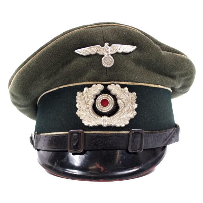 Wehrmacht (Heer) Infanterie Schirmmütze (Untouched!)