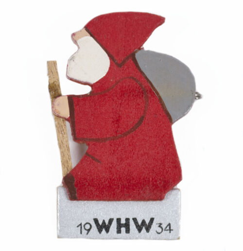 Winterhilfswerk (WHW) Santaclaus Weihnachtsman abzeichen 1934