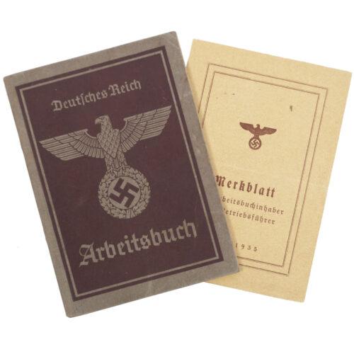 Arbeitsbuch second type Arbeitsamt München