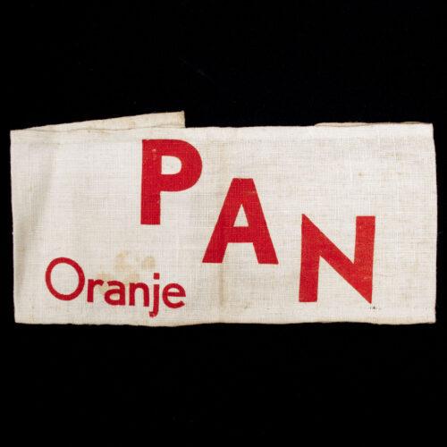 (Armband) Partizanen Actie Nederland - Oranje