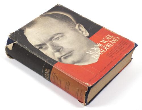 (Book NSB) Voor Volk en Vaderland with dustjacket