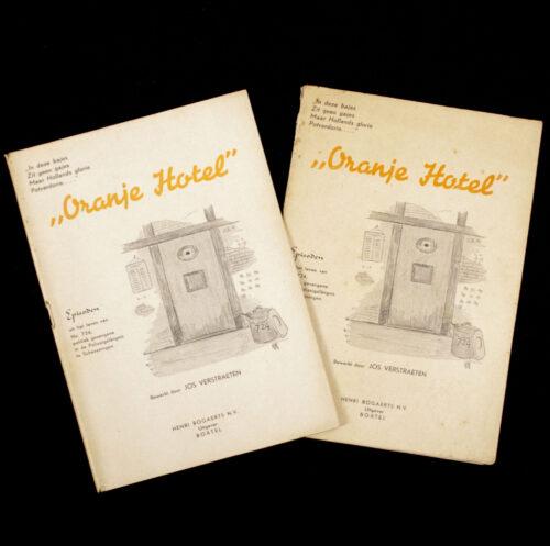 (Brochure) 2x Oranjehotel uit het leven van No.724 Politiek gevangene in de Polizeigefängnis te Scheveningen