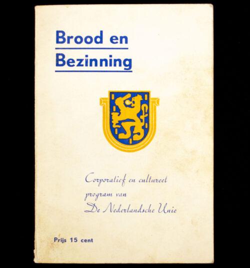 (Brochure) De Nederlandsche Unie - Brood en Bezinning