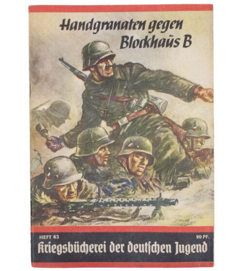 (Brochure) Handgranaten gegen Blockhaus B