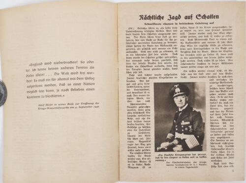 (Brochure) Ran an den Feind! Kampfberichte von unsere Kriegsmarine