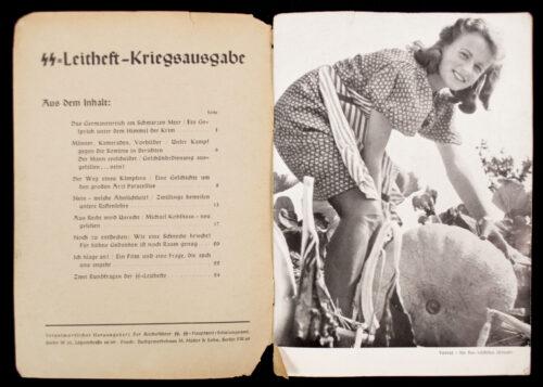 (Brochure) SS-Leitheft Jahrgang 7. Folge 6b. (1941)