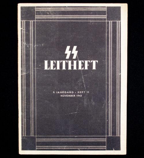 (Brochure) SS-Leitheft. 9. Jahrgang. Heft 11. November 1943