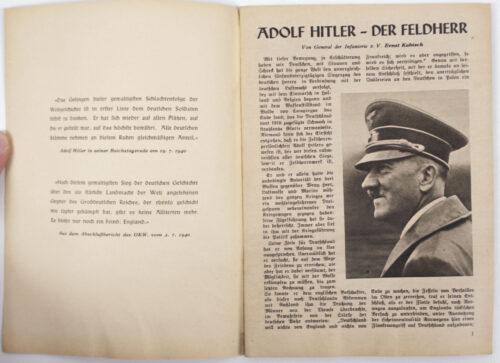 (Brochure) Siegeszüg dürch Frankreich