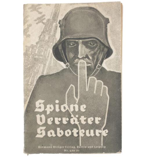 (Brochure) Spione, Verräter, Saboteure
