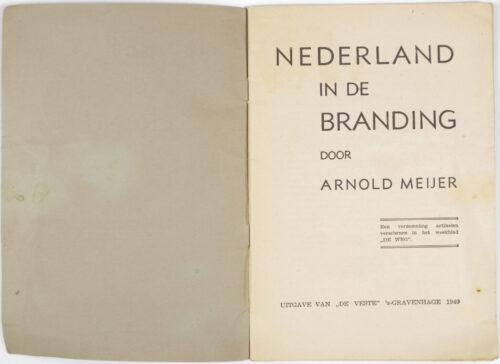 (Brochure) Zwart Front Nationaal Front - Arnold Meyer Nederland in de Branding