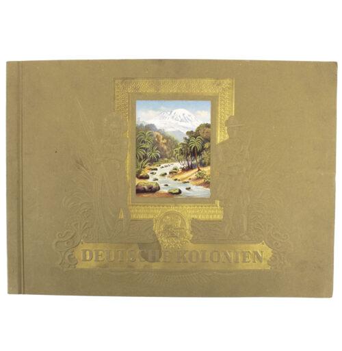 "Cigarette cards collectorsalbum ""Deutsche Kolonien"""