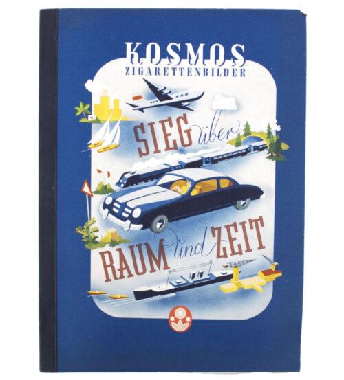 Cigarette picture album Sieg über Raum und Zeit