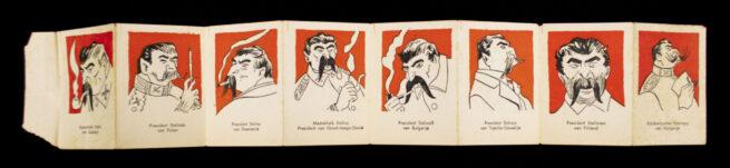 Dutch (NSB) Anti-Bolsjewist foldable mini-booklet (1943)