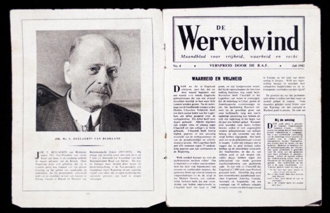 (Dutch Resistance) De Wervelwind No.4 Juli 1942