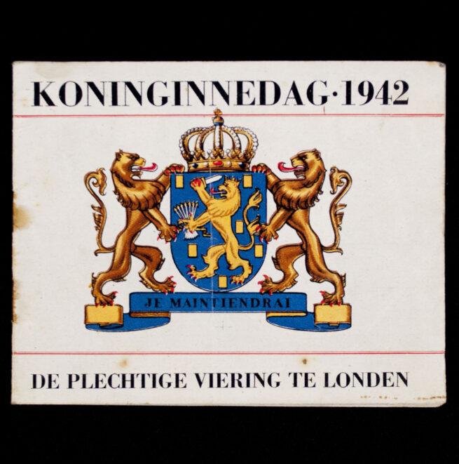 (Dutch Resistance) Koninginnedag 1942 De plechtige viering te Londen