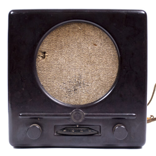 German WWII RadioVolksempfanger - Deutscher Kleinempfänger 1938