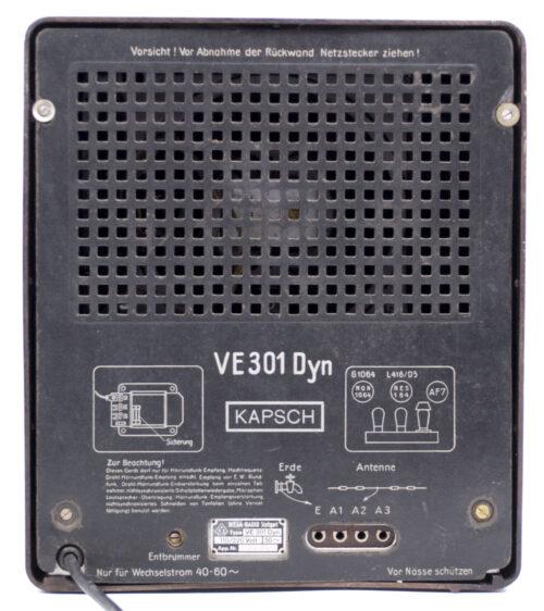 German WWII RadioVolksempfanger - VE 301 DYN (1938)