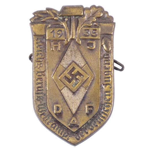 Hitlerjugend (HJ) Reichsberufswettkampf der Deutsche Jugend 1935 abzeichen