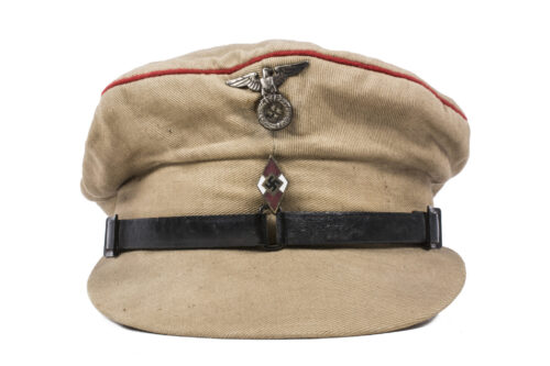 Hitlerjugend (HJ) early pre-RZM service cap (VERY RARE!)