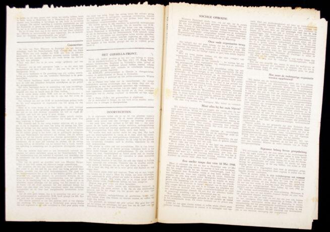 (Illegalresistence newspaper) Trouw 1e. Jaargang No.11 - September 1943