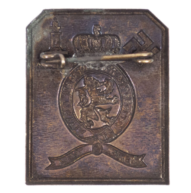 Kriegerkameradschaft Hassia 1934 abzeichen