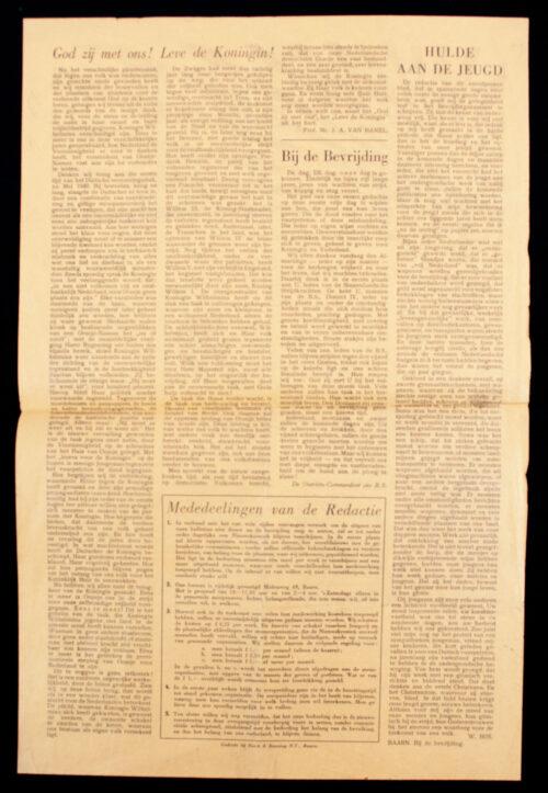 (Liberation Newspaper) De Nieuwskroniek voor het Eemland - Bevrijdingsnummer 5 mei 1945