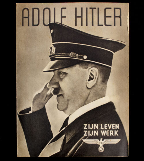 (Magazine) Adolf Hitler - Zijn leven, Zijn werk
