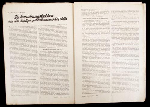 (Magazine) Berlijnsche Koerier Nr.7 - 1944
