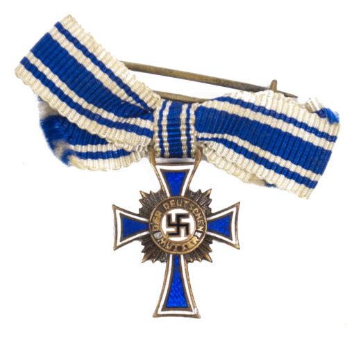 Miniature Mutterkreuz Motherscross in bronze