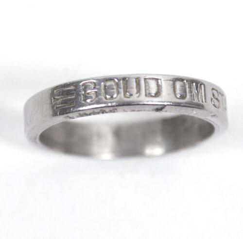 (NSB) Ring GOUD OM STAAL 1940