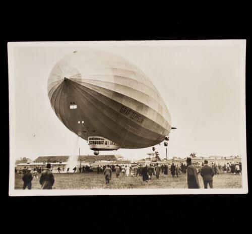 (Postcard) Graf Zeppelin (stamped!)