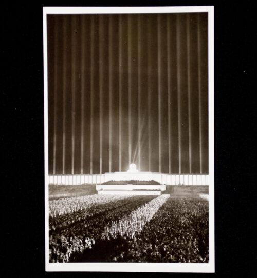 (Postcard) Reichsparteitag Nürnberg Cathedral of light
