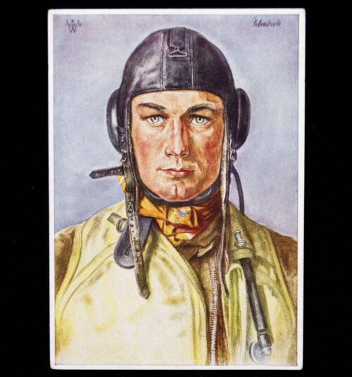 (Postcard) W. Willrich - Erfolgreicher Deutscher Jagdflieger