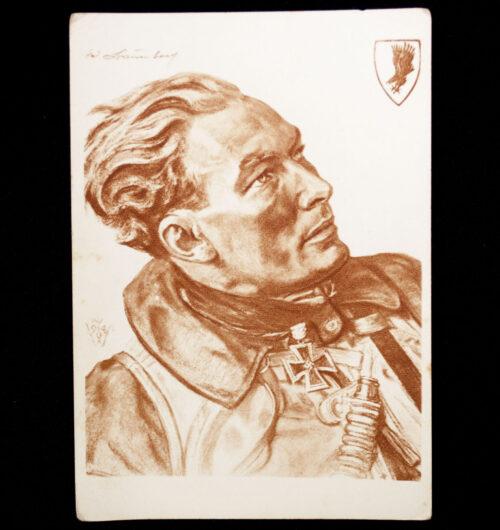 (Postcard) W. Willrich Major Werner Baumbach