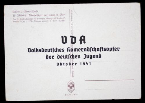 (Postcard) W. Willrich - Wachoffizier auf einem U-Boot
