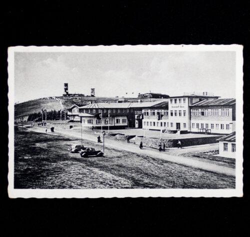 (Postcard) Wasserkuppe 950 m. Reichssegelflugschule des N.S.F.K. (nicely stamped!)