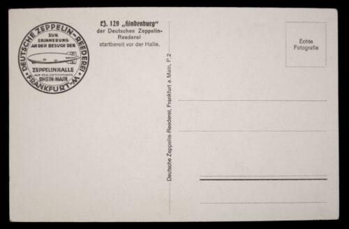 (Postcard) Zeppelin Lz129 Hindenburg