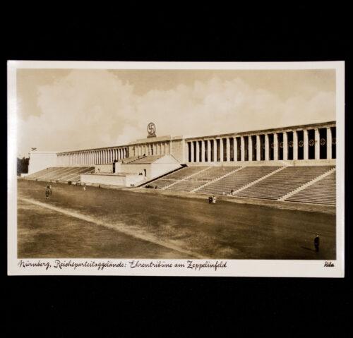 (Postcard) vNürnberg, Reichsparteitaggelände Ehrentribune am Zeppelinfeld