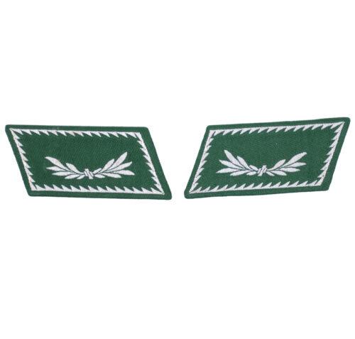 Reichsfinanzverwaltung Zollgrenzschutz pair of collar tabs
