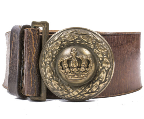 (WWI) Bavarian officers belt and buckle