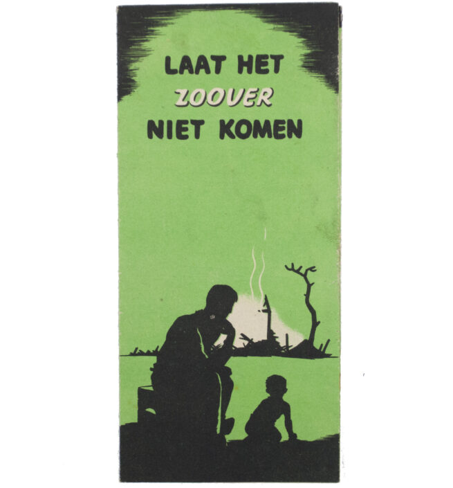 WWII Luchtbeschermingsdienst (LBD) folder Laat het zover niet komen