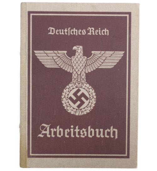 Arbeitsbuch second type (Arbeitsamt Breslau)